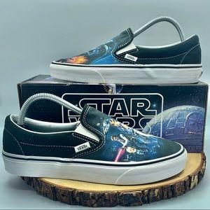 Vans x Star Wars A New Hope Slip Ons Men Size 8.5
